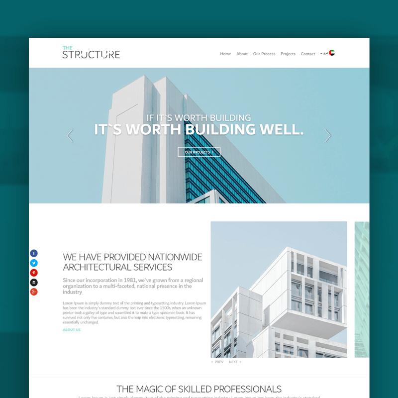 Architect Company Website Development Solution Dubai Ready Ae